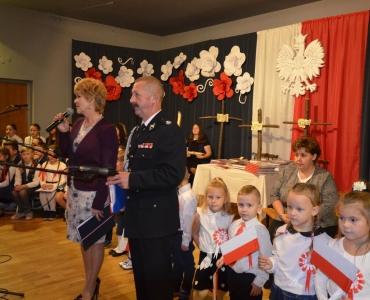 Patriotyczna Akademia z okazji 100 lecia Niepodległości Polski w Rybarzowicach