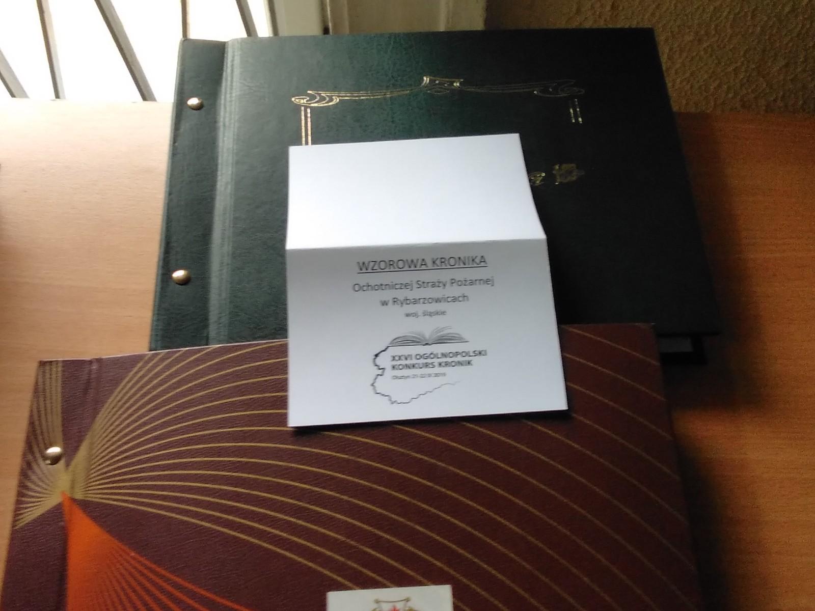 Nagroda dla OSP Rybarzowice