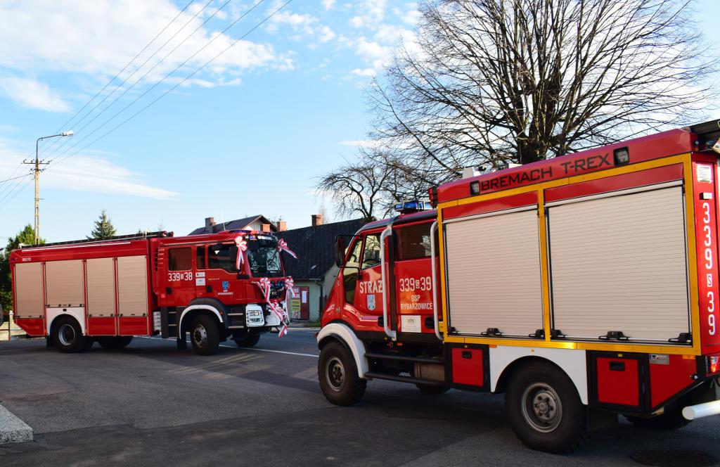 Interwencja straży pożarnej