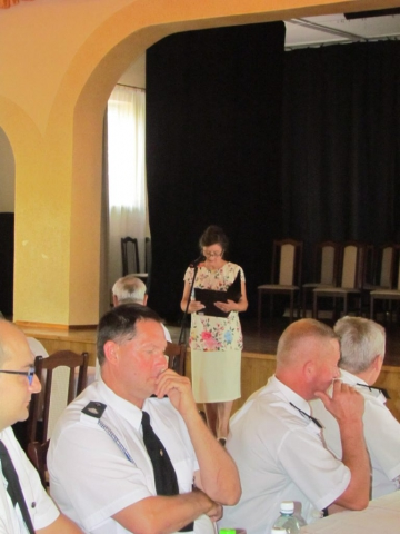 Przemowa do uczestników przeglądu