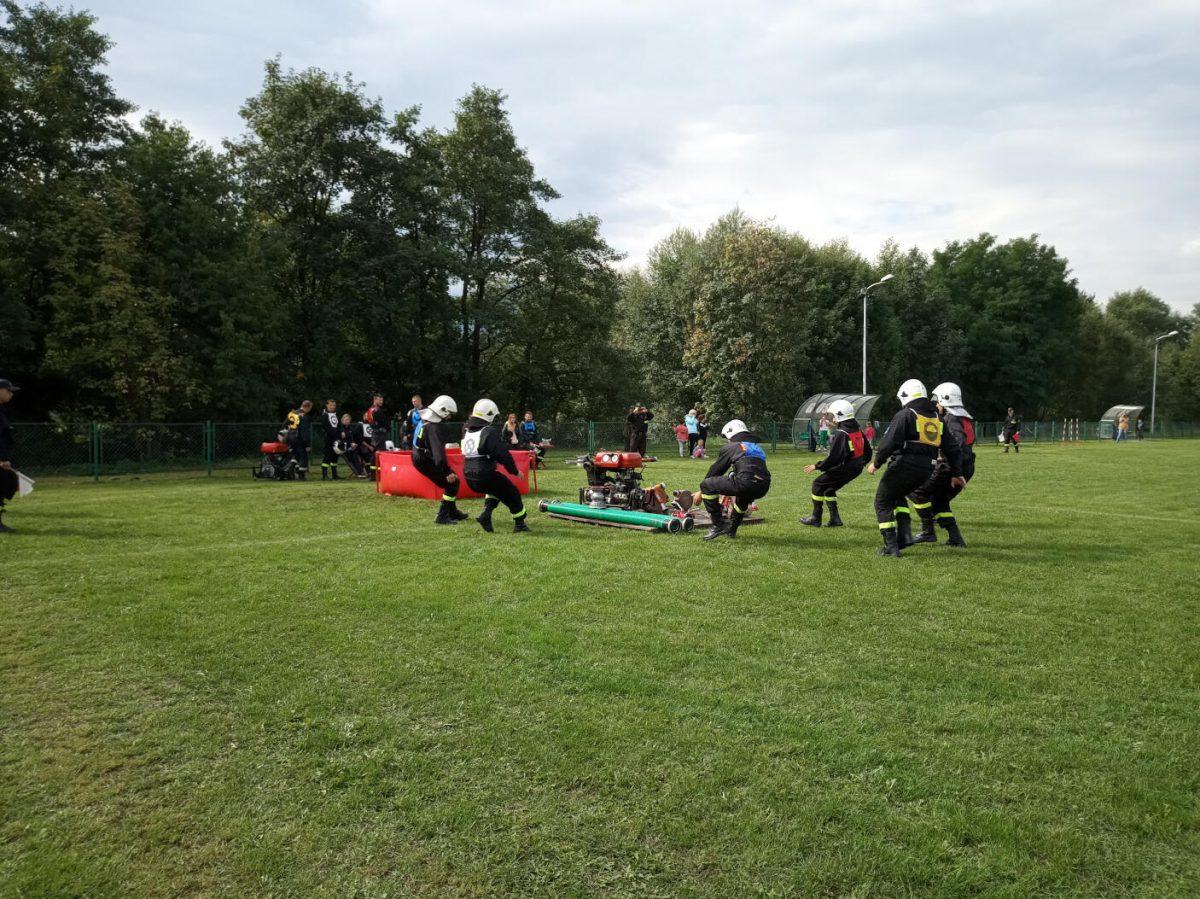 Strażacy rozpoczynają udział w zawodach