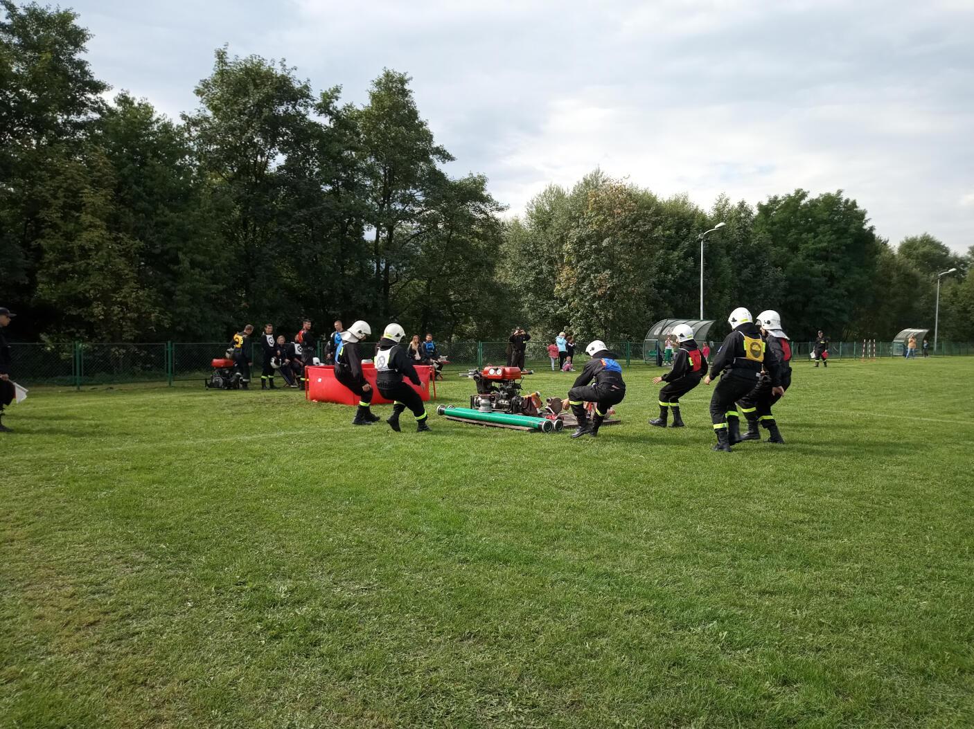 Strażacy rozpoczynają zawody