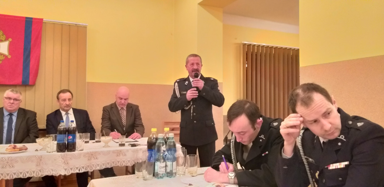 Walne zebranie - przemowa Prezesa OSP Rybarzowice