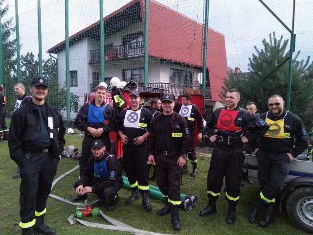 Strażacy z OSP Rybarzowice