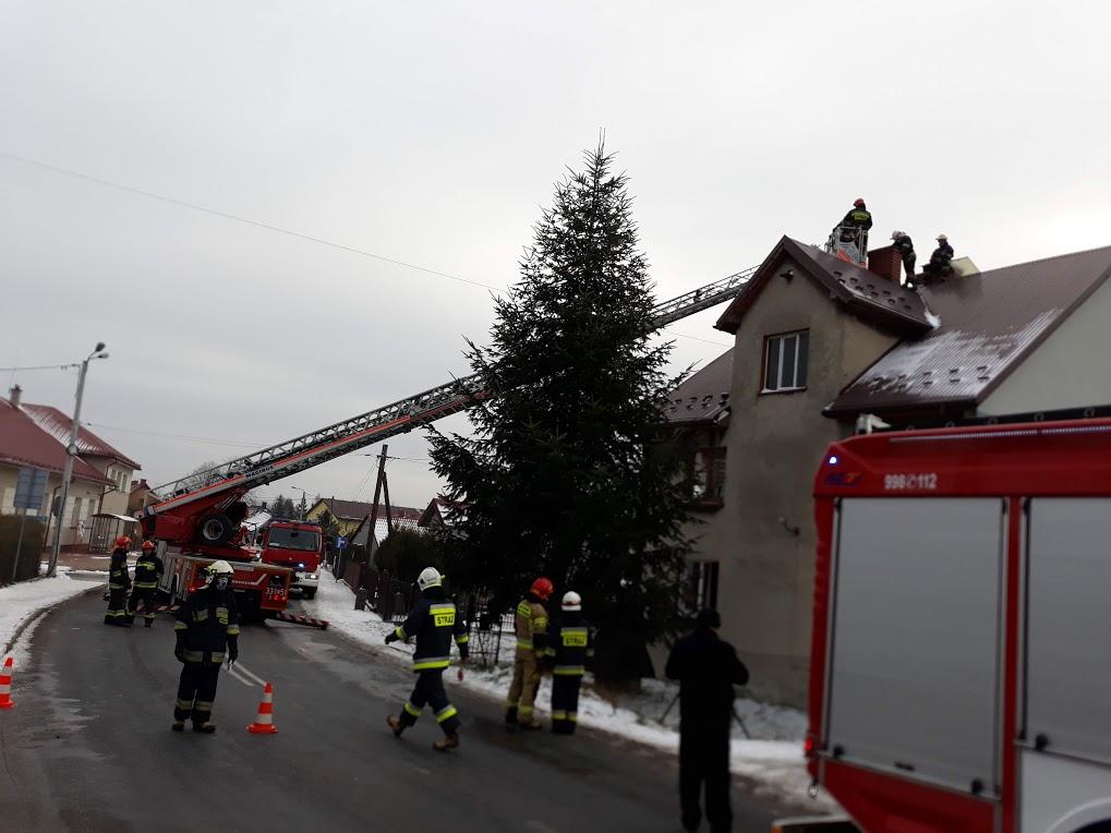 Interwencja strażaków