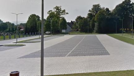 Parking przy Szkole Podstawowej w Rybarzowicach