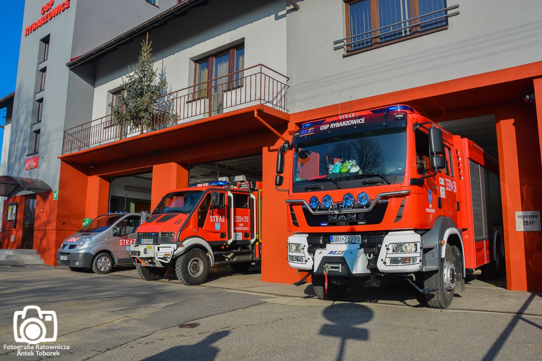 Flota pojazdów strażackich