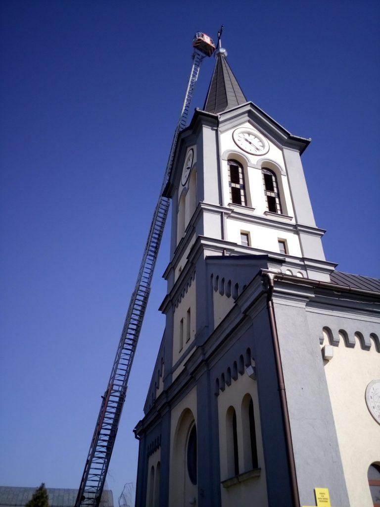 Wieża kościoła