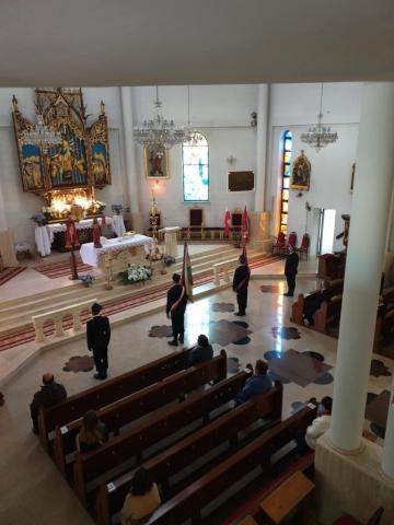 Dzień Strażaka - Uroczystość w kościele zdjęcie nr 4