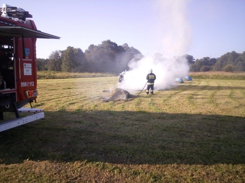 Zdjęcie z ugaszania pożaru